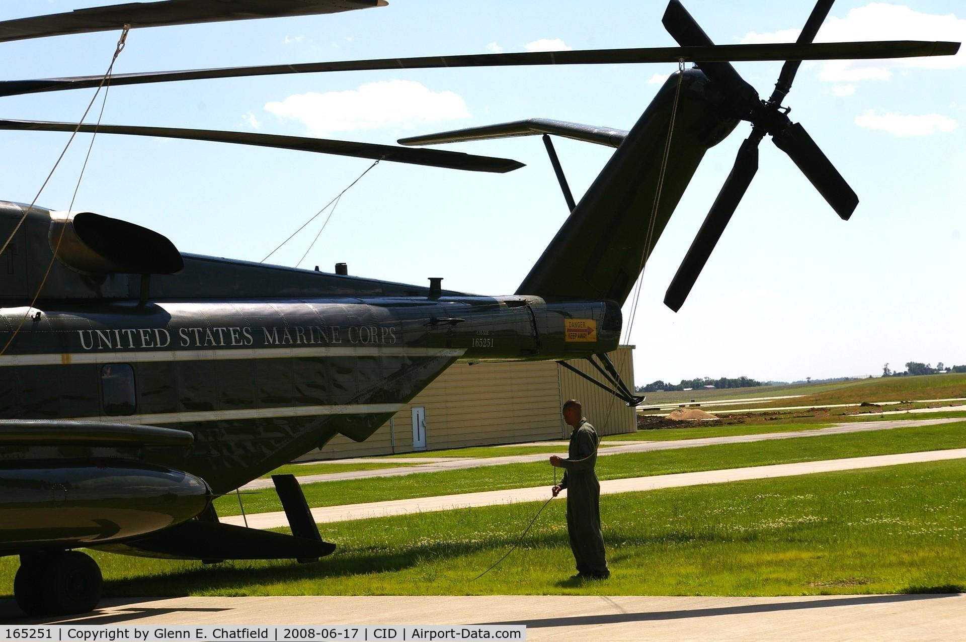 165251, Sikorsky CH-53E Super Stallion C/N 65-645, For Presidential support