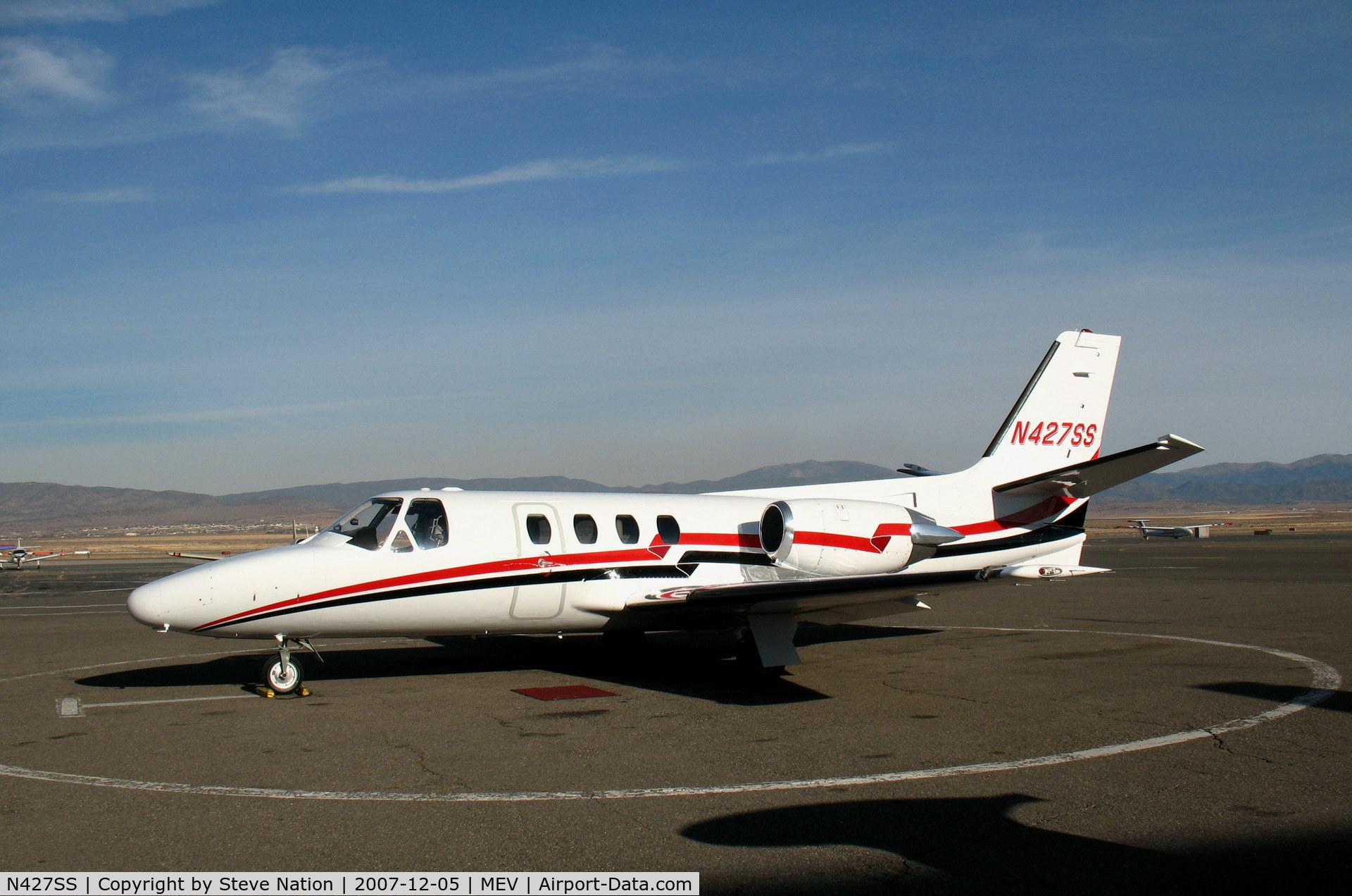 N427SS, 1984 Cessna 501 Citation I/SP C/N 501-0681, 1984 Cessna 501 @Minden, NV