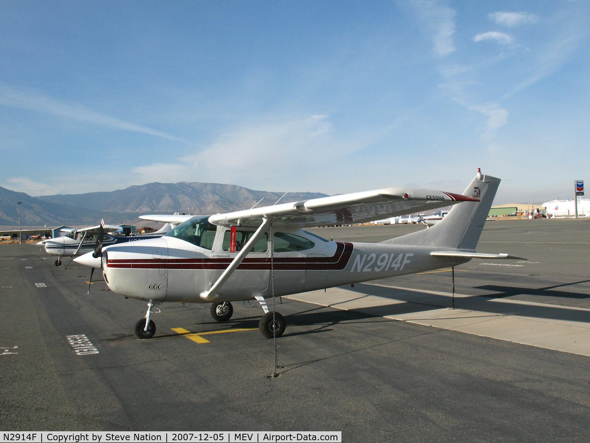 N2914F, 1965 Cessna 182J Skylane C/N 18257014, 1965 Cessna 182J @ Minden, NV