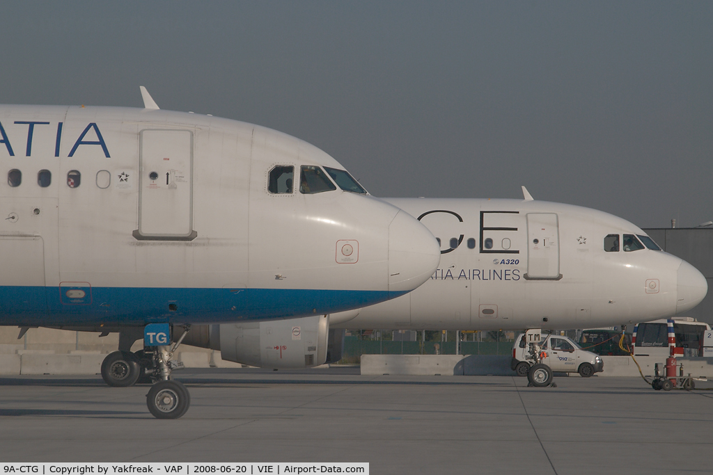 9A-CTG, 1998 Airbus A319-112 C/N 767, Croatia Airlines Airbus 319