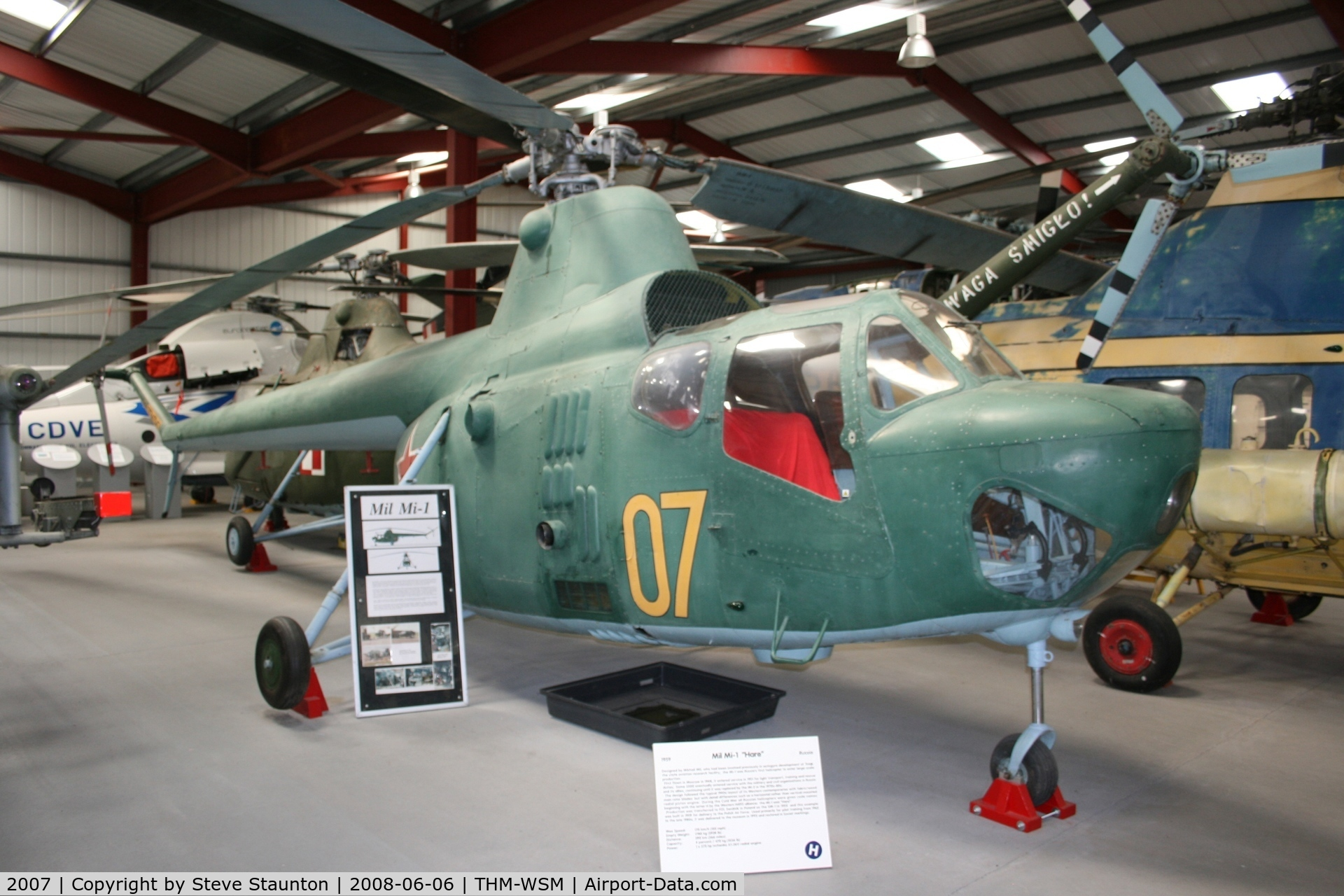 2007, 1961 PZL-Swidnik SM-2 C/N S2-03006, Taken at the Helicopter Museum (http://www.helicoptermuseum.co.uk/)
