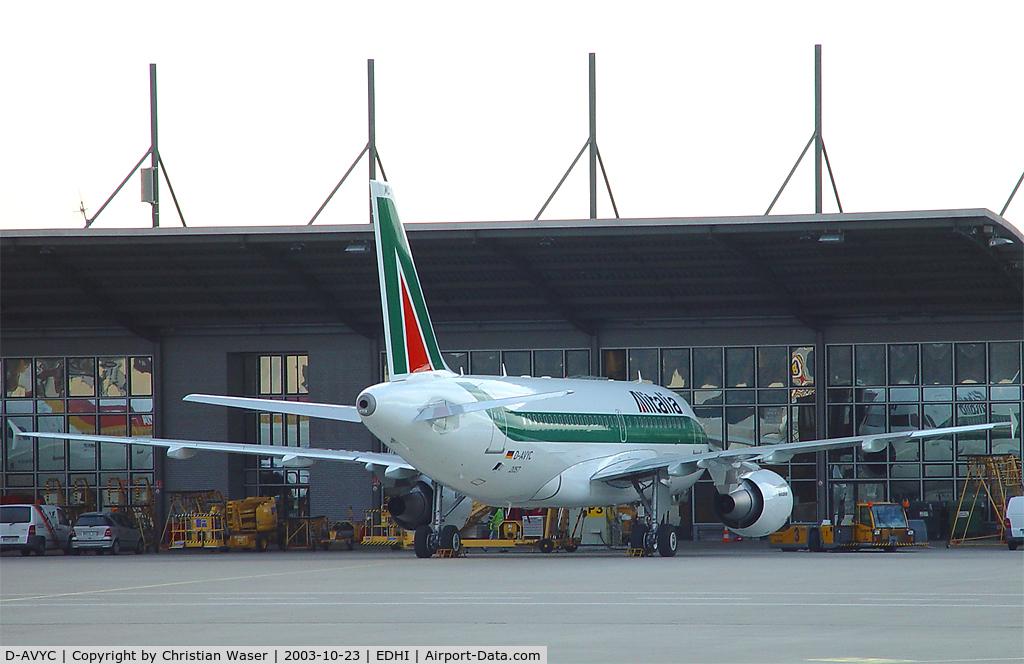 D-AVYC, 2008 Airbus A319-112 C/N 3407, Alitalia