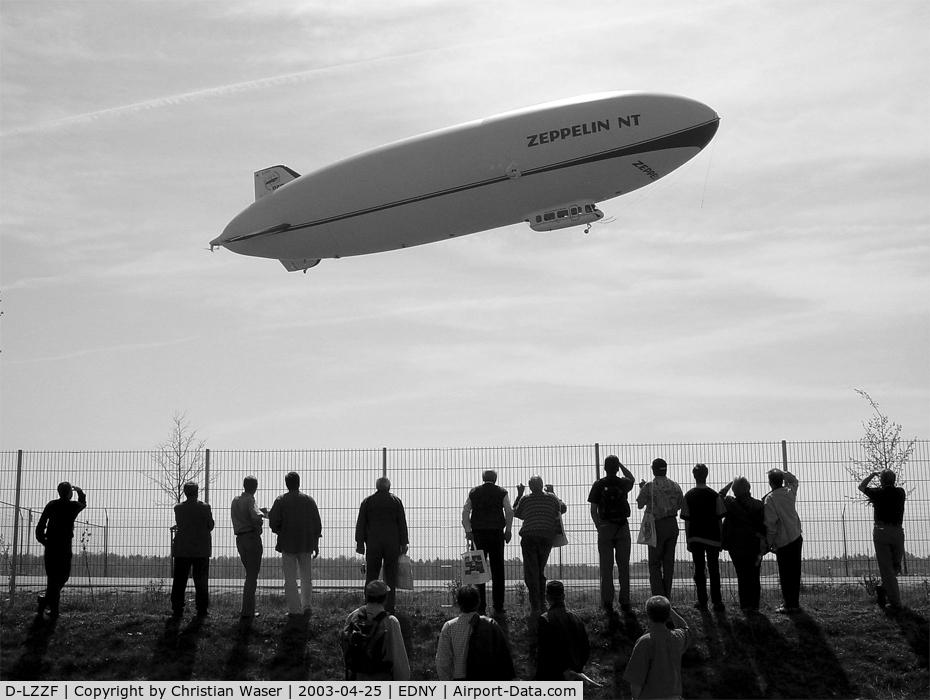 D-LZZF, 1998 Zeppelin LZ-N07 C/N 3, Zeppelin