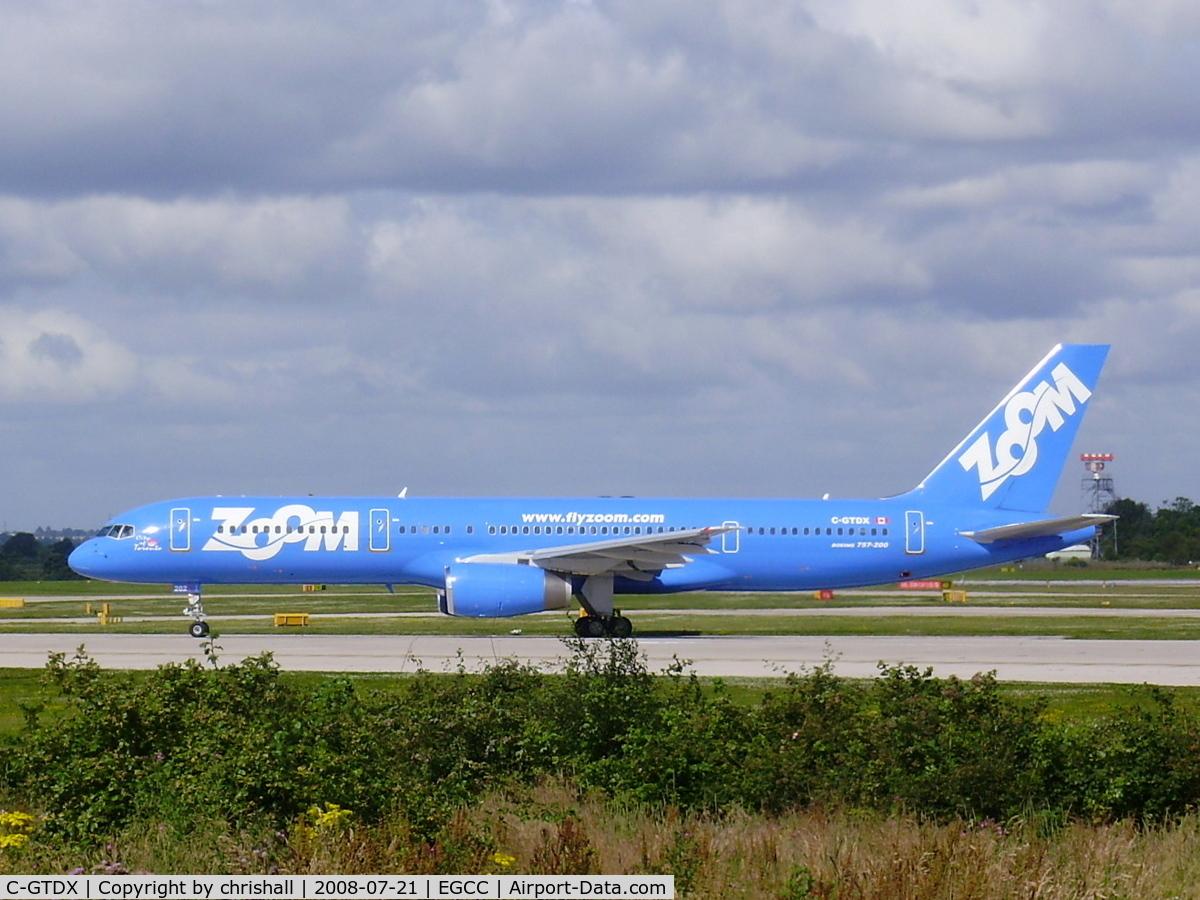 C-GTDX, 1990 Boeing 757-28A C/N 24544, Zoom Airlines