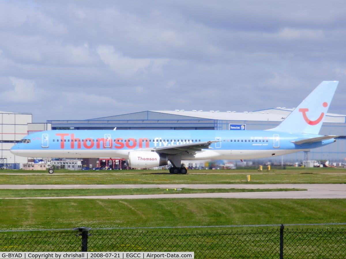 G-BYAD, 1992 Boeing 757-204 C/N 26963, Thomson