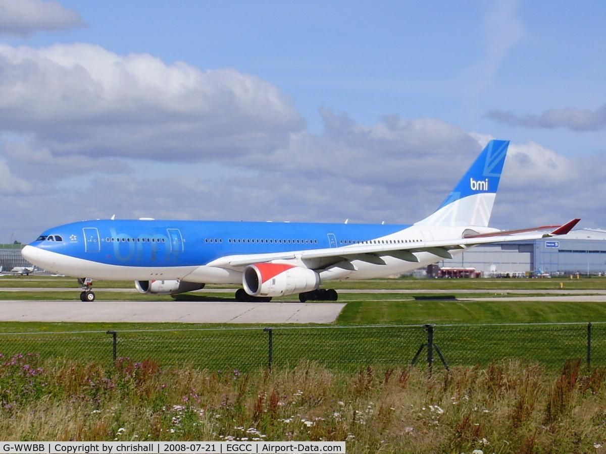 G-WWBB, 2001 Airbus A330-243 C/N 404, BMI