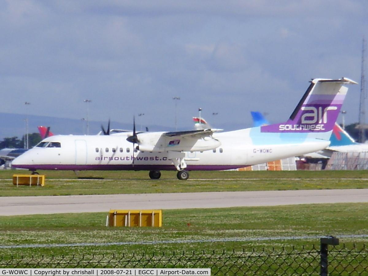 G-WOWC, 1991 De Havilland Canada DHC-8-311 Dash 8 C/N 311, Air Southwest