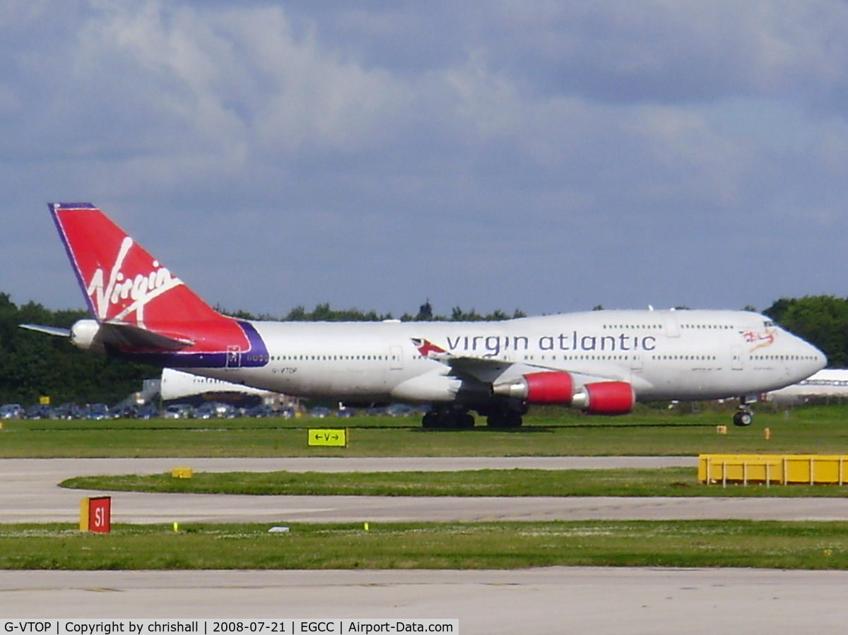 G-VTOP, 1997 Boeing 747-4Q8 C/N 28194, Virgin Atlantic