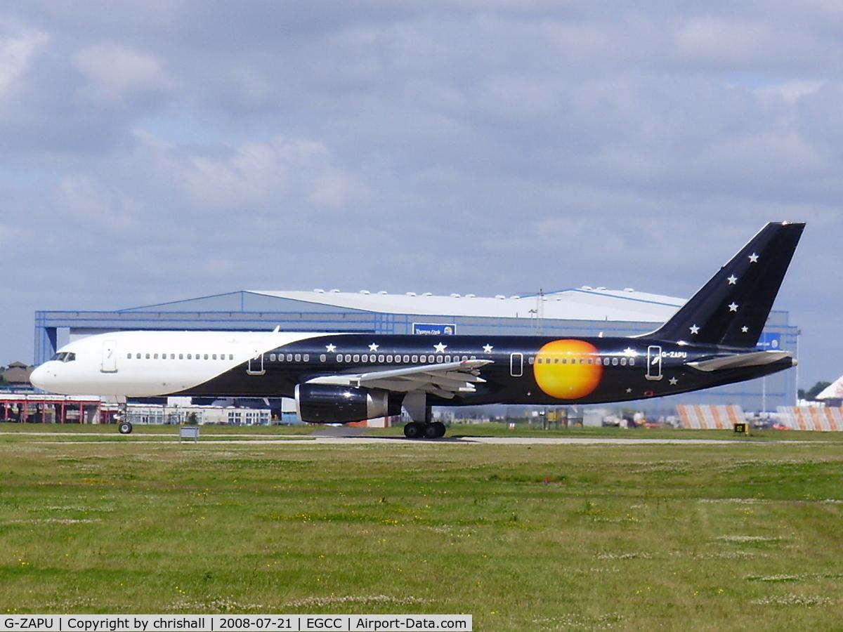 G-ZAPU, 1992 Boeing 757-2Y0/F C/N 26151, Titan Airways