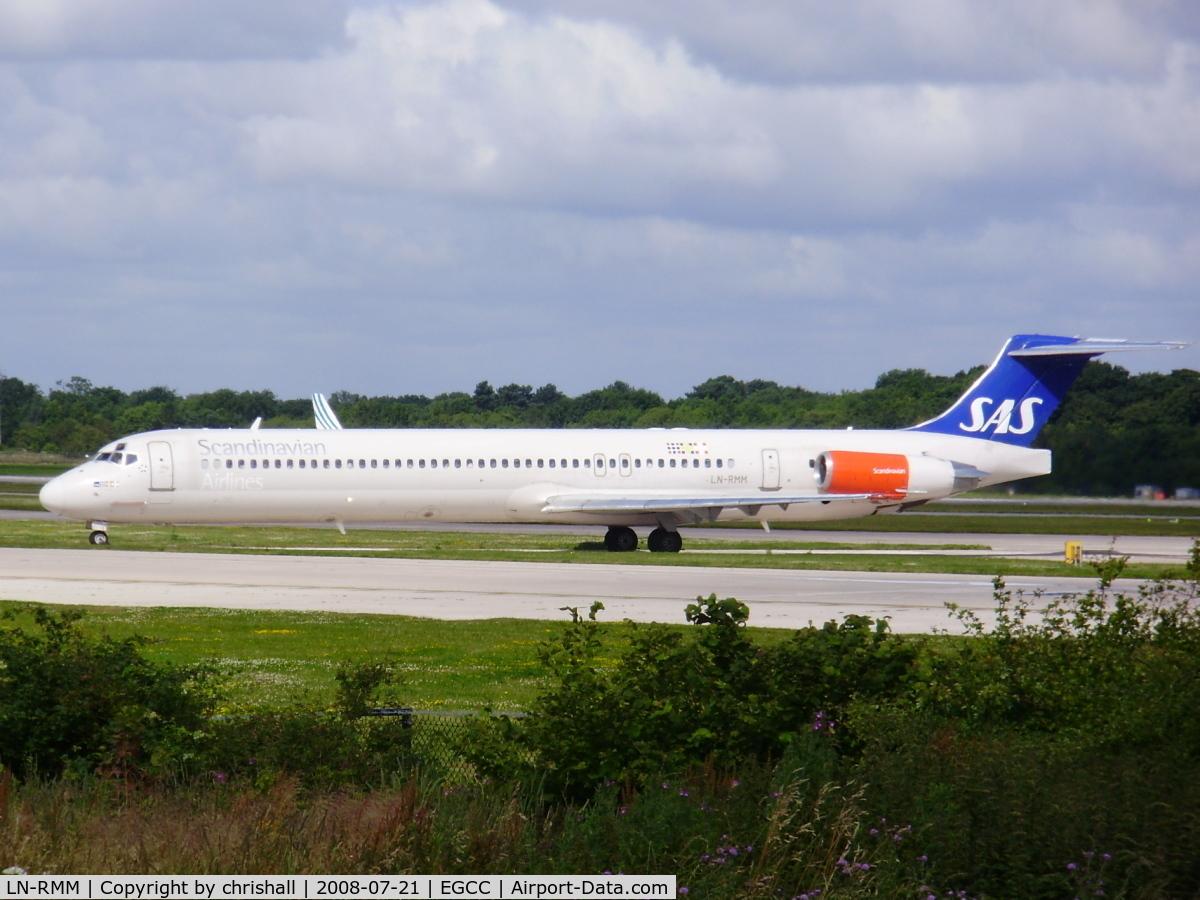 LN-RMM, 1991 McDonnell Douglas MD-81 (DC-9-81) C/N 53005, Scandinavian Airlines