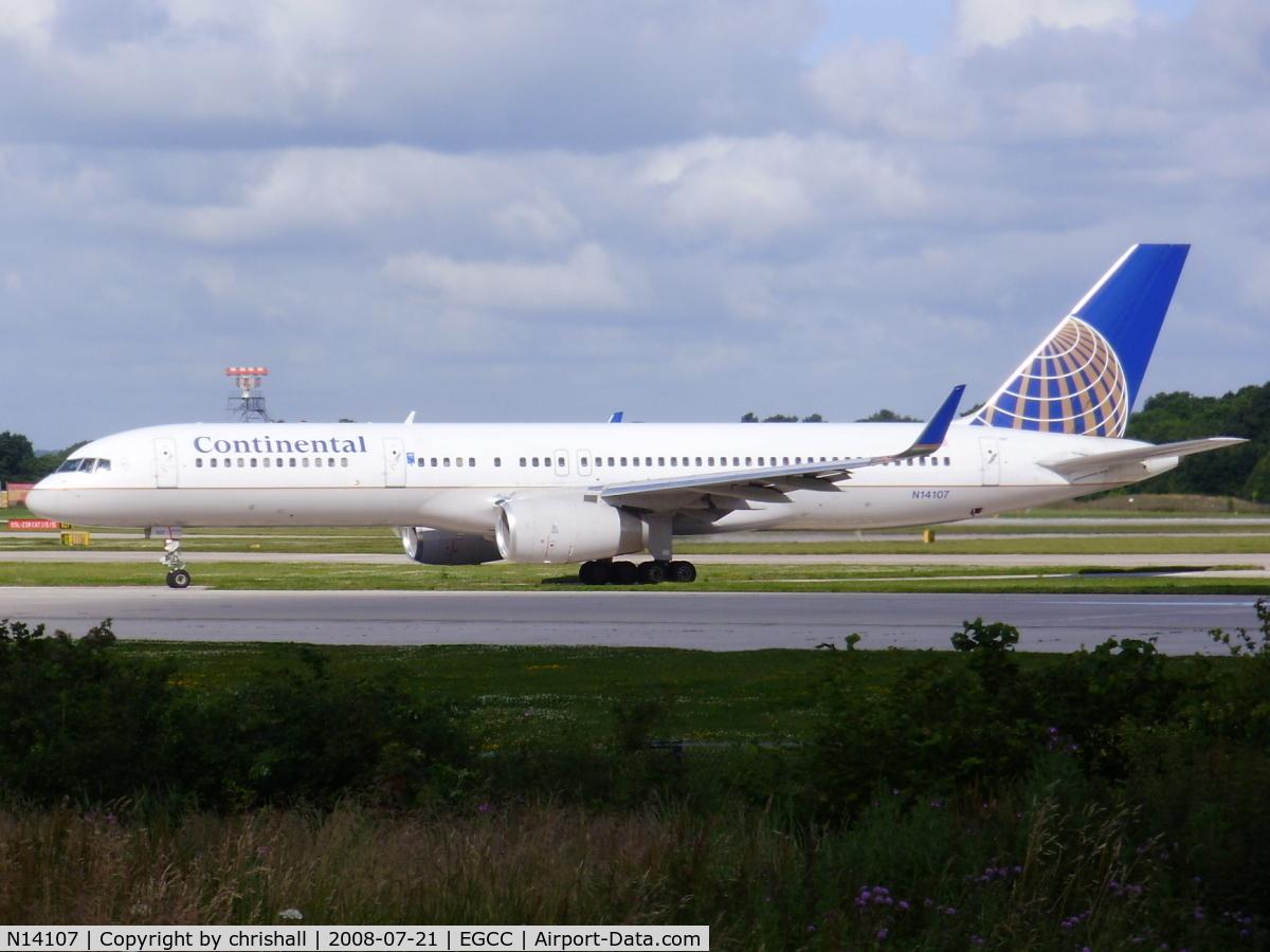 N14107, 1994 Boeing 757-224 C/N 27297, Continental Airlines