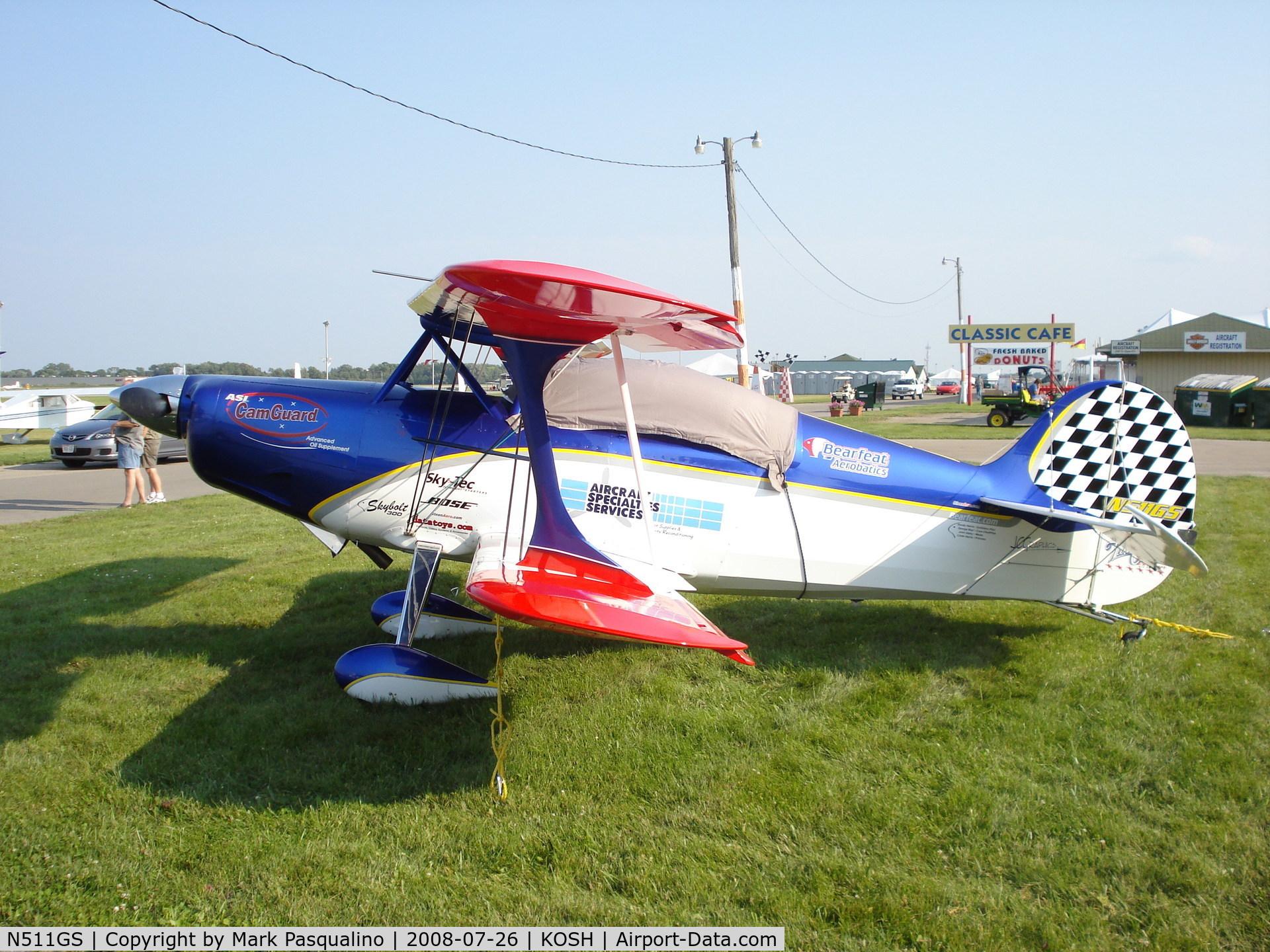 N511GS, 1993 Steen Skybolt 300 C/N HR30091001, Skybolt 300