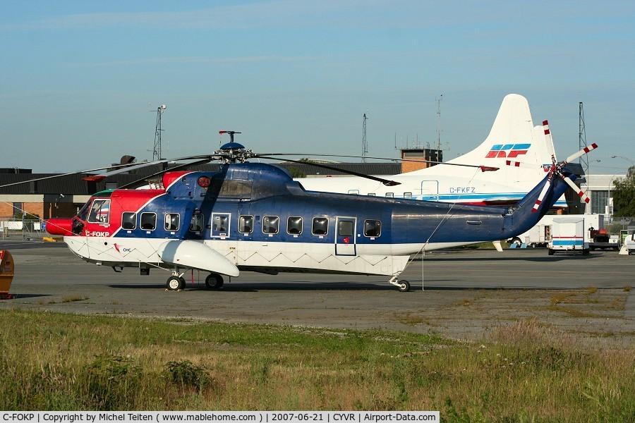C-FOKP, 1965 Sikorsky S-61N C/N 61297, CHC Helicopters International