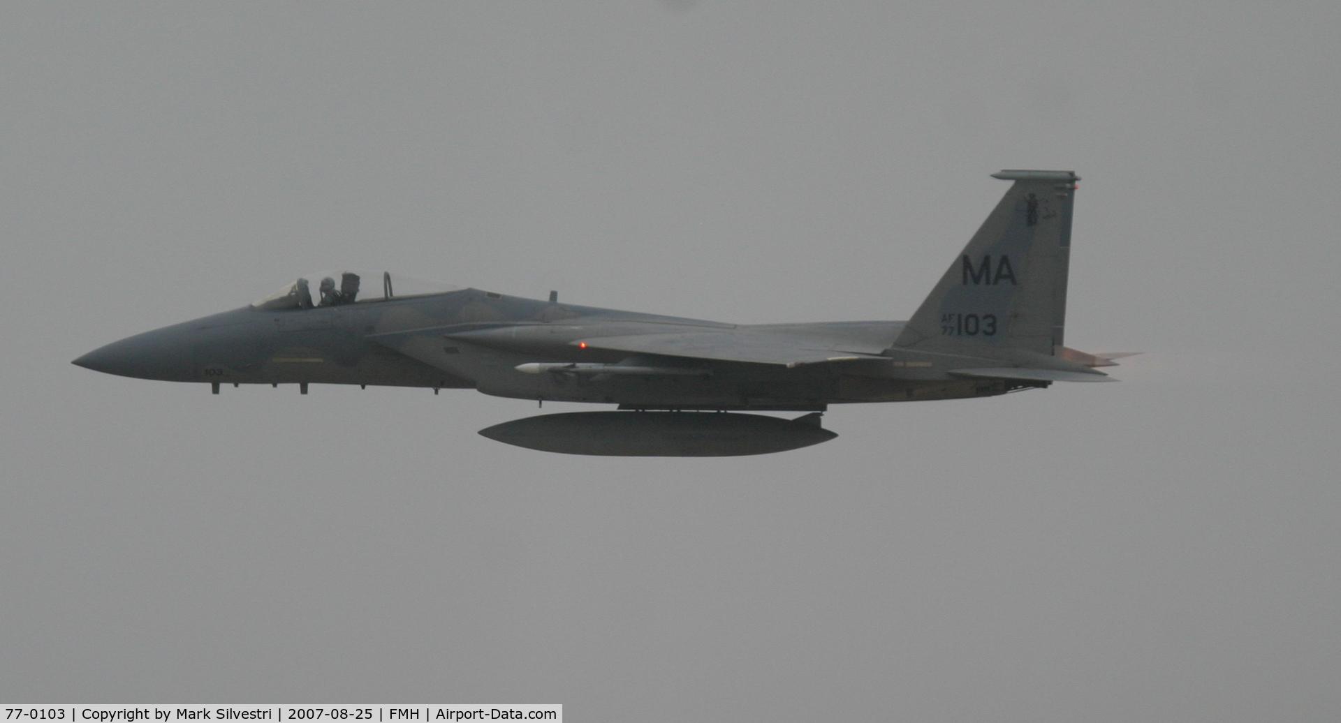 77-0103, McDonnell Douglas F-15A Eagle C/N 0386/A315, Otis ANGB 2007