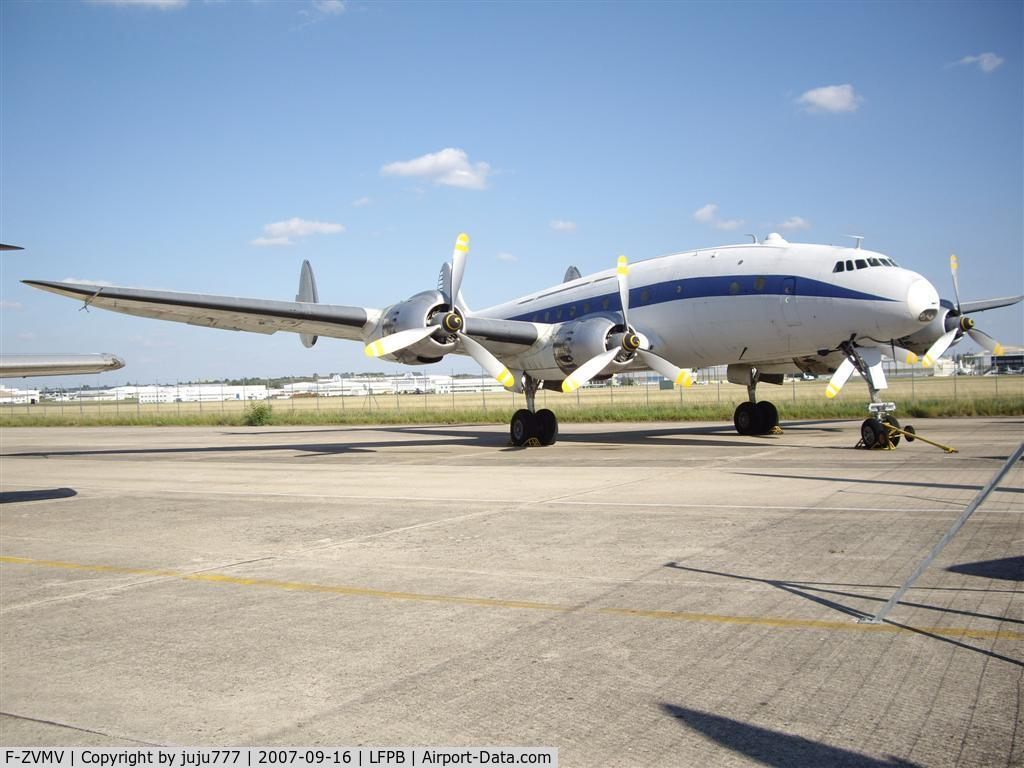F-ZVMV, Lockheed L-749A-79-22 Constellation C/N 2503, on display at Le Bourget Muséum