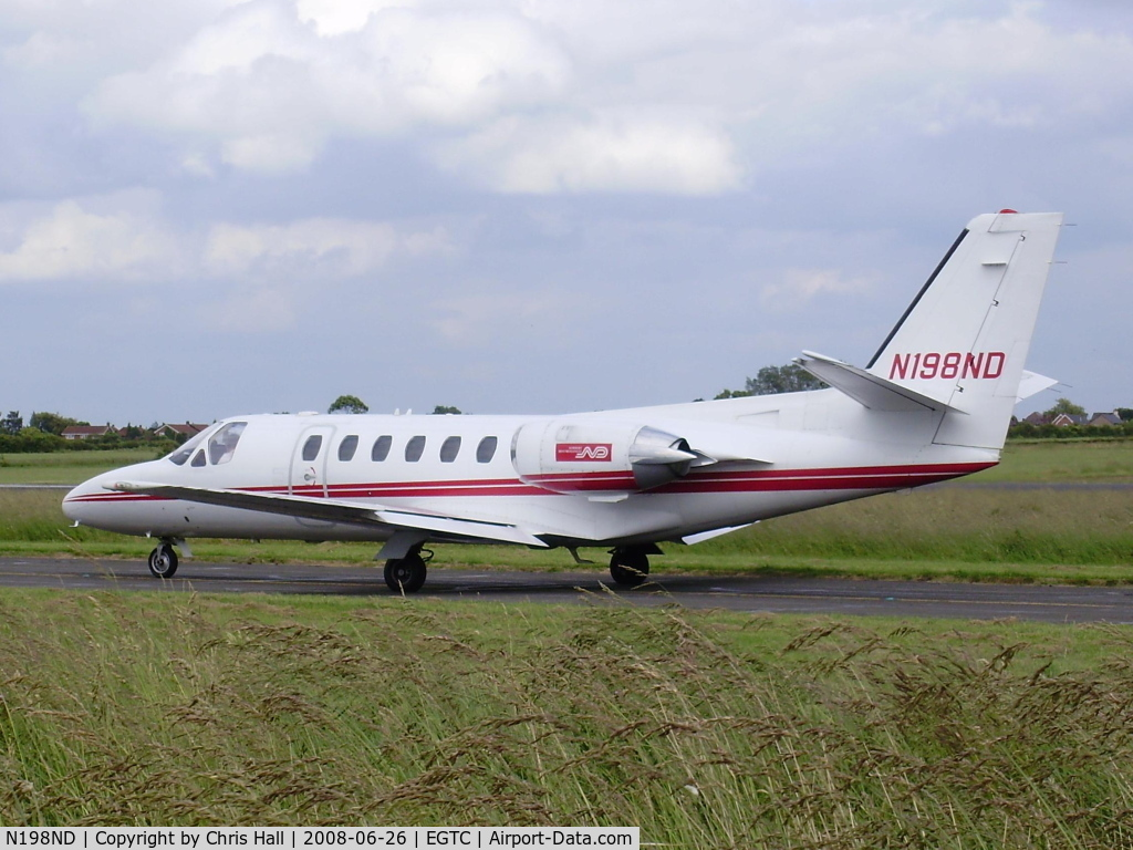 N198ND, 1990 Cessna 550 C/N 550-0630, Norbert Dentressangle