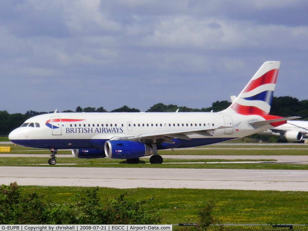G-EUPB, 1999 Airbus A319-131 C/N 1115, British Airways