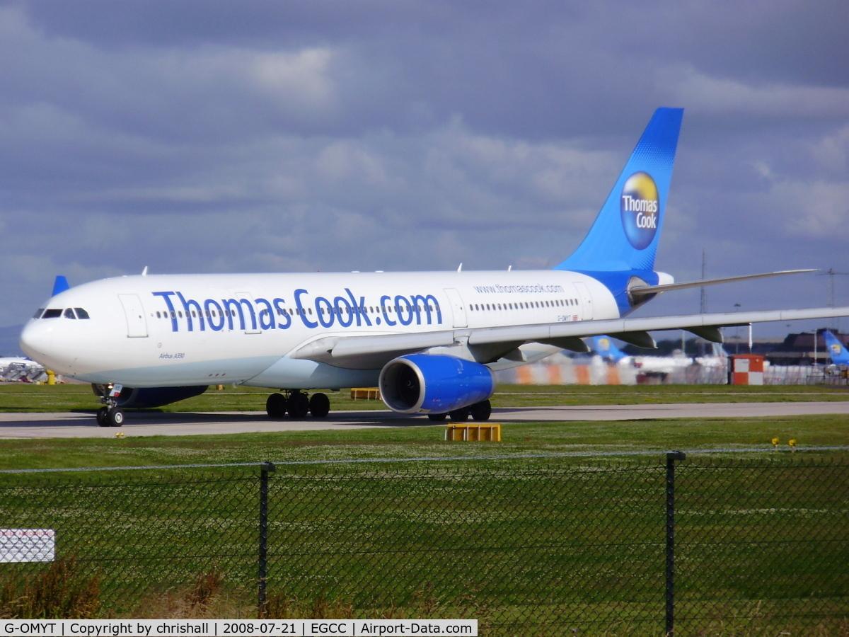 G-OMYT, 1999 Airbus A330-243 C/N 301, Thomas Cook