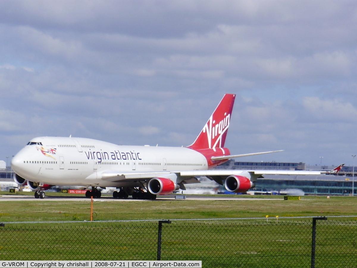 G-VROM, 2001 Boeing 747-443 C/N 32339, Virgin Atlantic