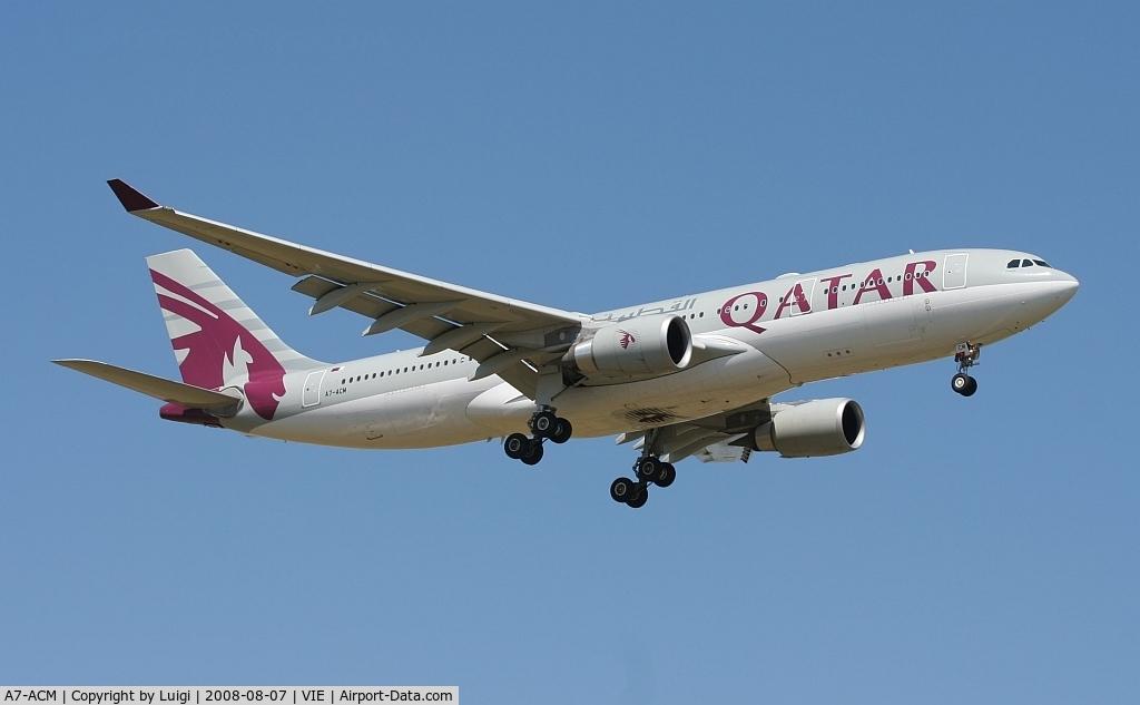 A7-ACM, 2007 Airbus A330-202 C/N 849, Qatar A330-200