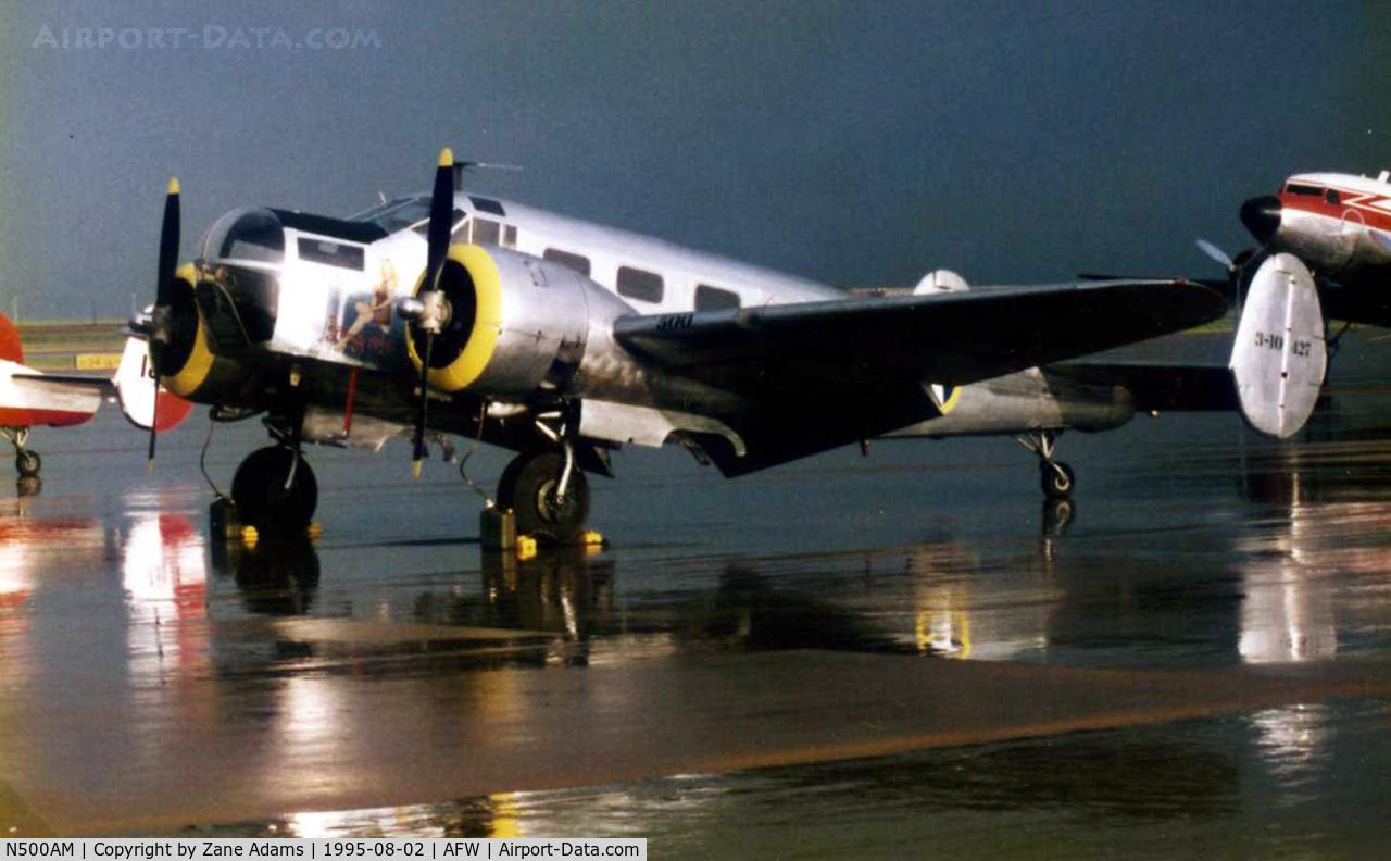 N500AM, 1941 Beech AT-11 Kansan C/N 6501, Freedom Flight Tour stop 1995