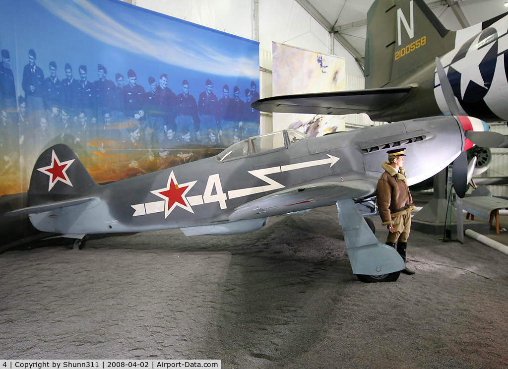 4, Yakovlev Yak-3 C/N 2530, Preserved in Le Bourget Museum...