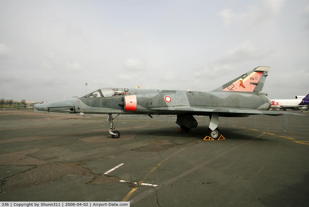 336, Dassault Mirage IIIR C/N 336, S/n 336 - Preserved in Le Bourget Museum