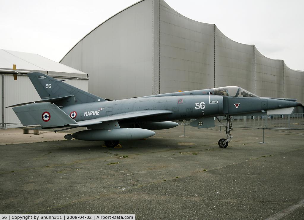56, Dassault Etendard IV.M C/N 56, S/n 56 - Preserved in Le Bourget Museum
