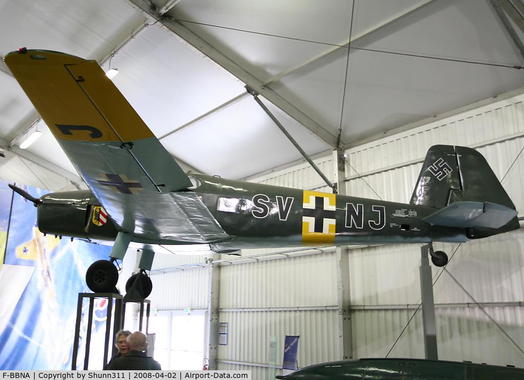 F-BBNA, Bucker Bu-181C-3 Bestmann C/N 15, S/n 330844 - Preserved in Le Bourget Museum