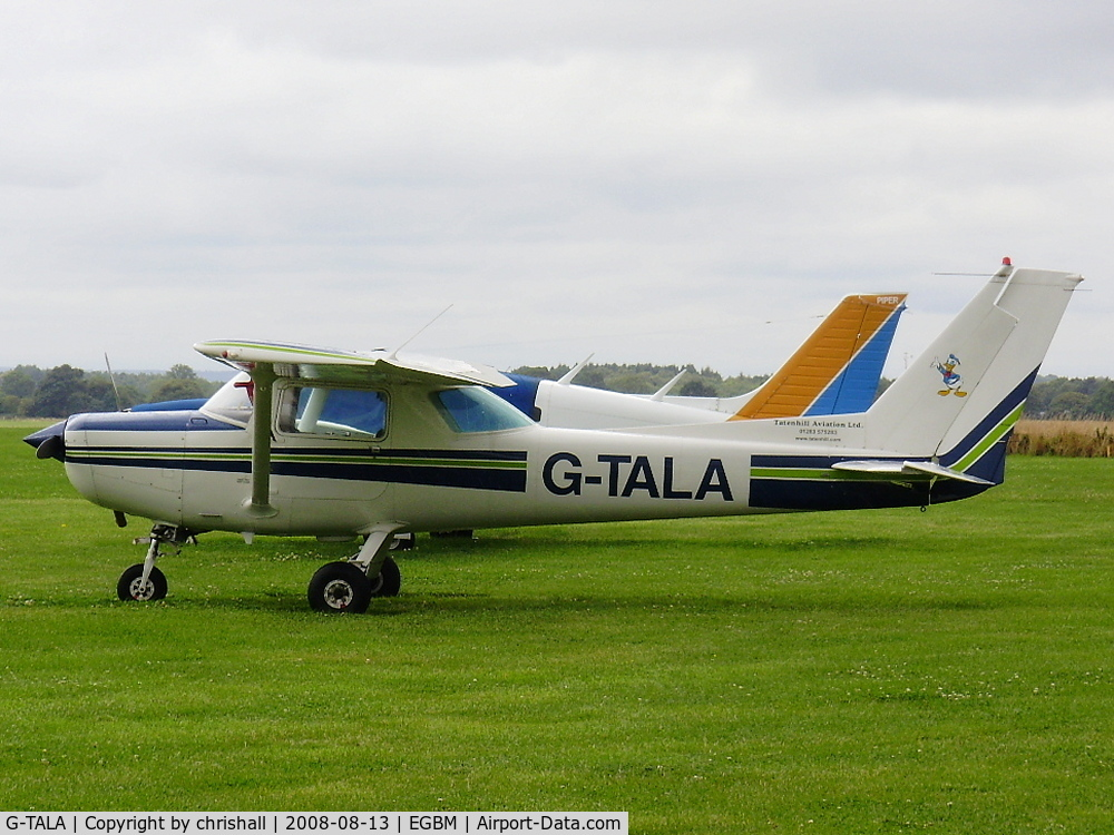 G-TALA, 1981 Cessna 152 C/N 152-85134, TATENHILL AVIATION LTD. Previous ID: G-BNPZ