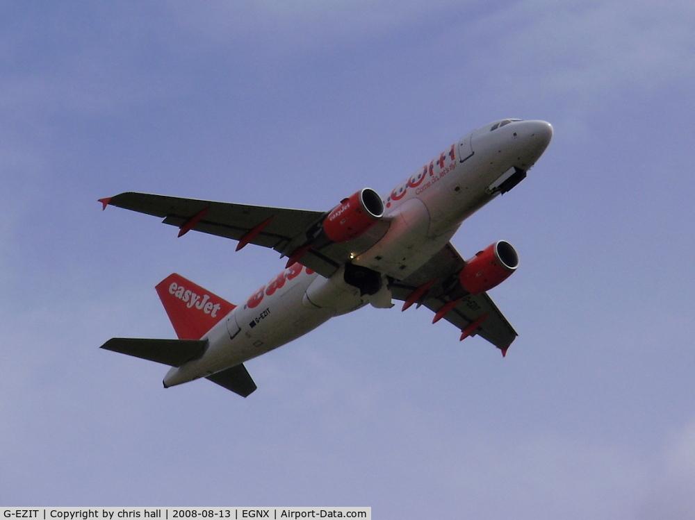 G-EZIT, 2005 Airbus A319-111 C/N 2538, Easijet