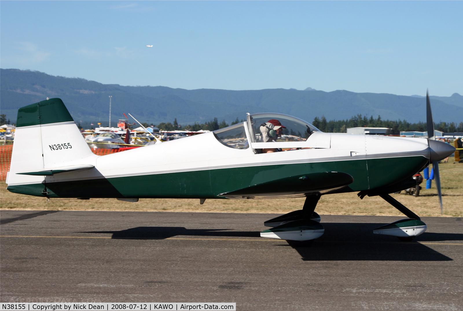 N38155, 1997 Vans RV-6A C/N 001 (N38155), Arlington fly in