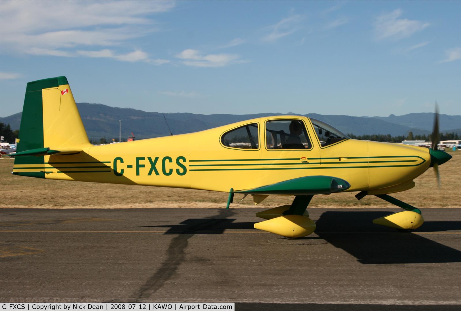 C-FXCS, 2007 Vans RV-10 C/N 40297, Arlington fly in