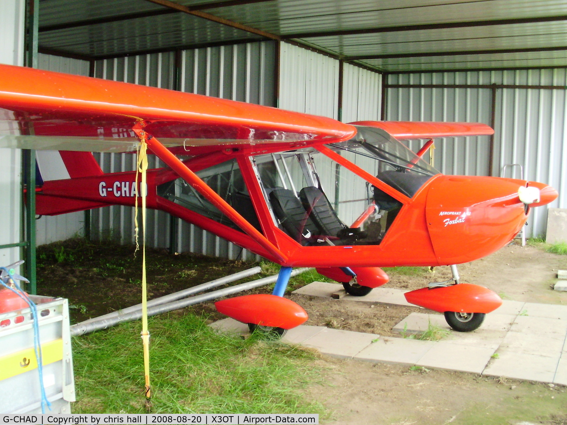 G-CHAD, 2002 Aeroprakt A-22 Foxbat C/N PFA 317-13909, Otherton Microlight Airfield