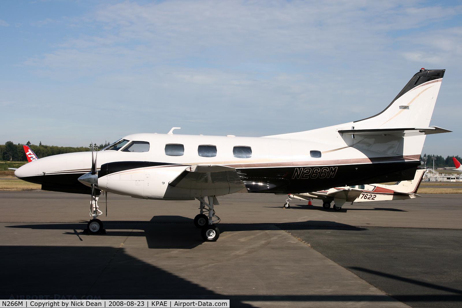N266M, 1981 Swearingen SA227-TT C/N TT-424, Paine on a nice sunny morning