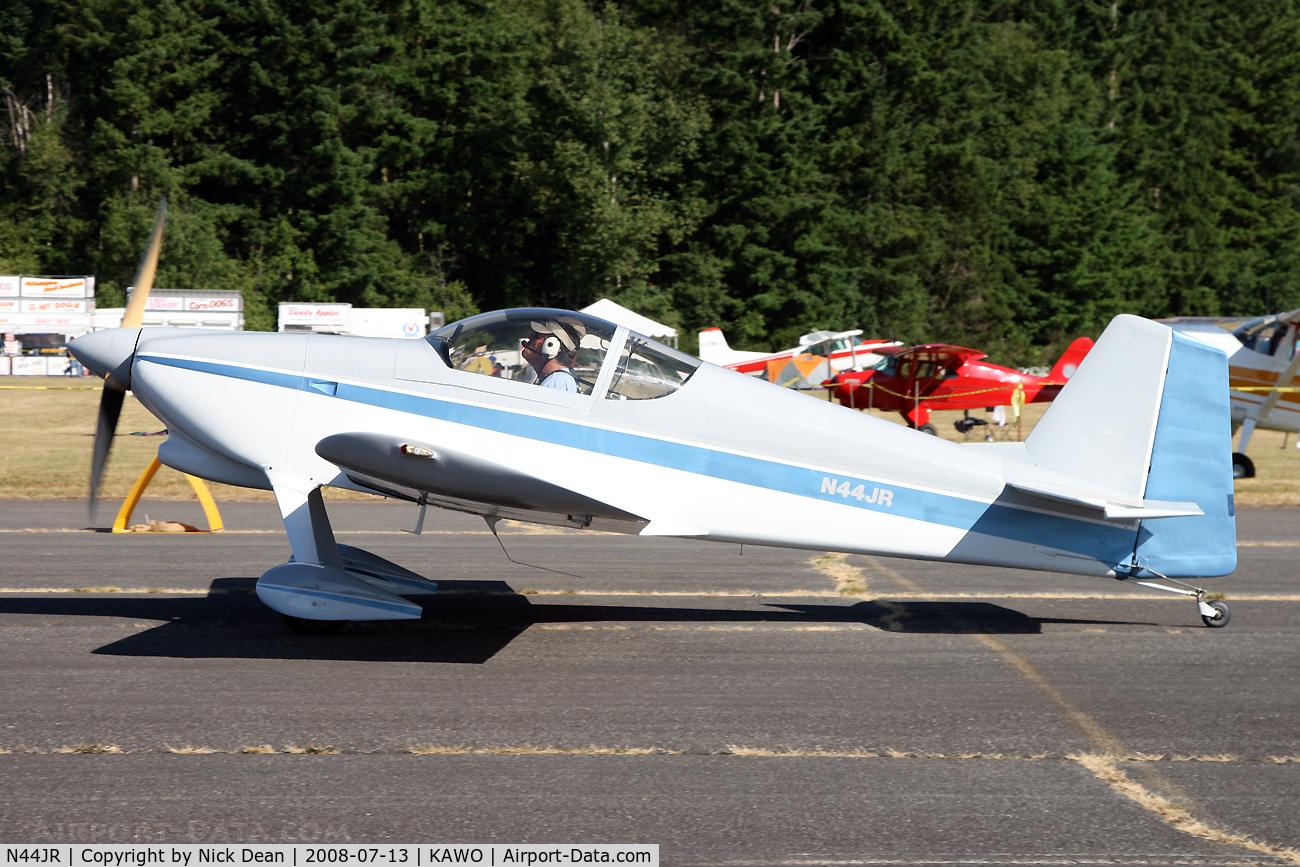 N44JR, 1997 Vans RV-6 C/N 24545, Arlington fly in