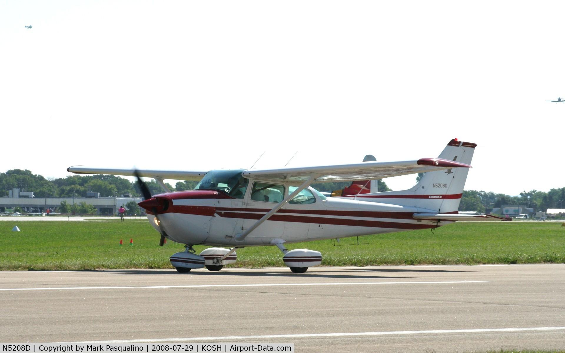 N5208D, 1979 Cessna 172N Skyhawk C/N 17272451, Cessna 172
