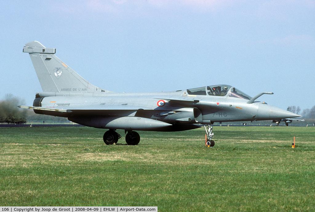 106, Dassault Rafale C C/N 106, EC01.007 participant of Frisian Flag 2008.