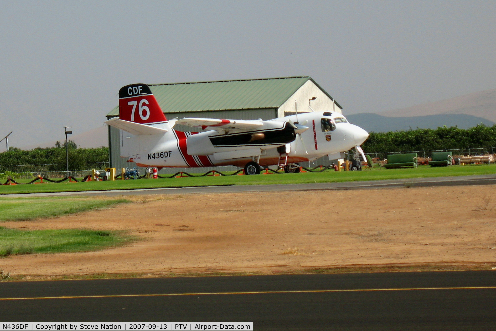 N436DF, 2001 Marsh Aviation S-2F3AT C/N 152337, CDF (CALFIRE) Grumman/Marsh S-F3AT Tanker #76