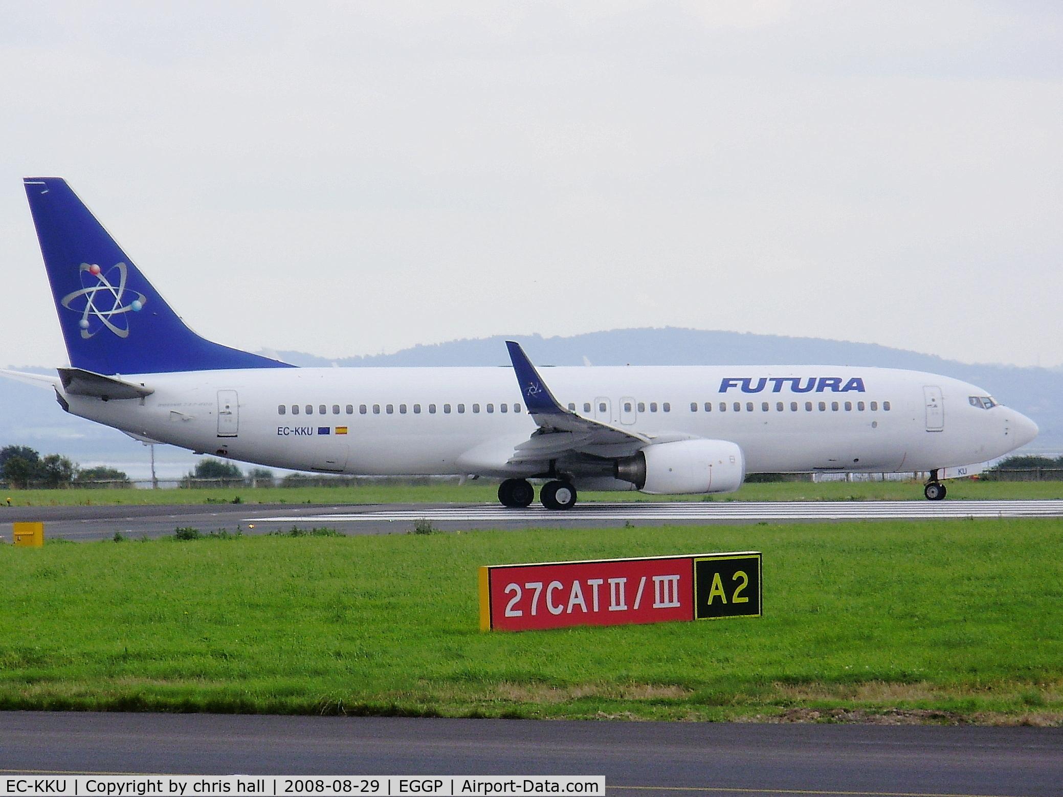 EC-KKU, 2005 Boeing 737-86N C/N 32658, Boeing 737-86N, Futura International Airways