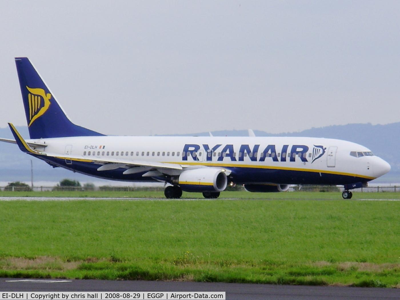 EI-DLH, 2006 Boeing 737-8AS C/N 33590, Ryanair