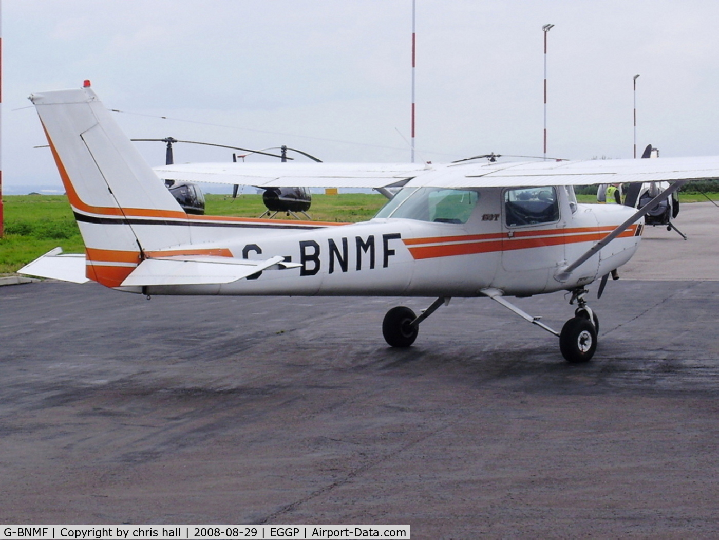 G-BNMF, 1982 Cessna 152 C/N 152-85563, (cn 152-85563) Previously N93858