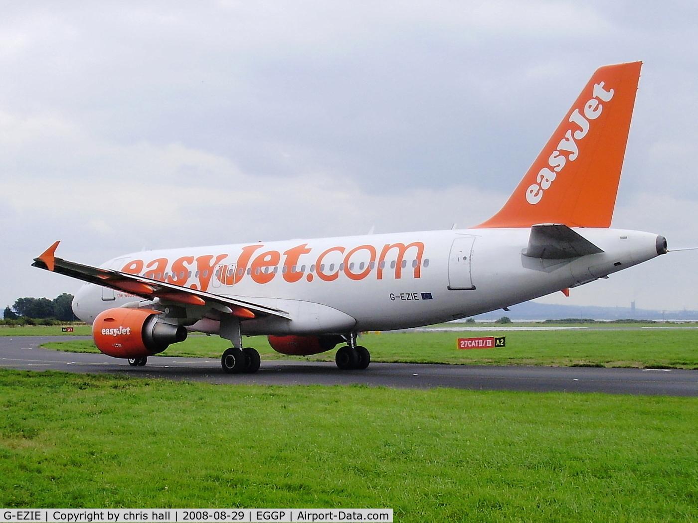G-EZIE, 2005 Airbus A319-111 C/N 2446, Easijet