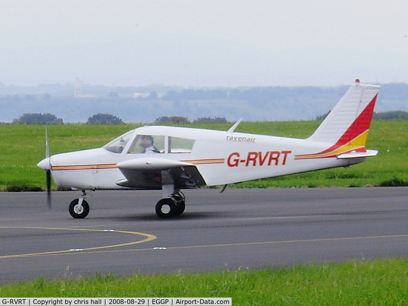G-RVRT, 1970 Piper PA-28-140 Cherokee C/N 28-26933, RAVENAIR AIRCRAFT LTD, Previous ID: G-AYKX