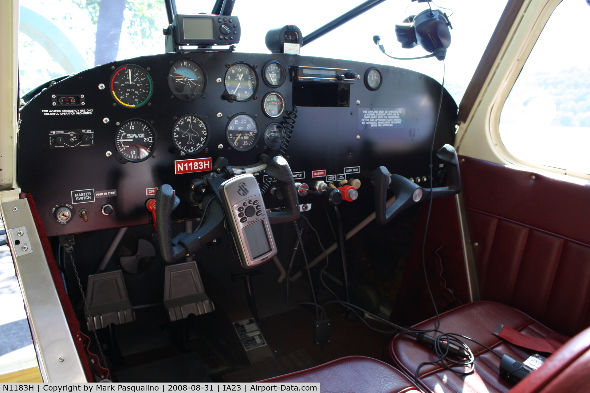N1183H, 1948 Aeronca 15AC Sedan C/N 15AC-194, Aeronca 15AC