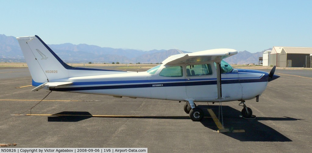 N50826, 1980 Cessna 172P Skyhawk C/N 17274222, At Fremont County Airport