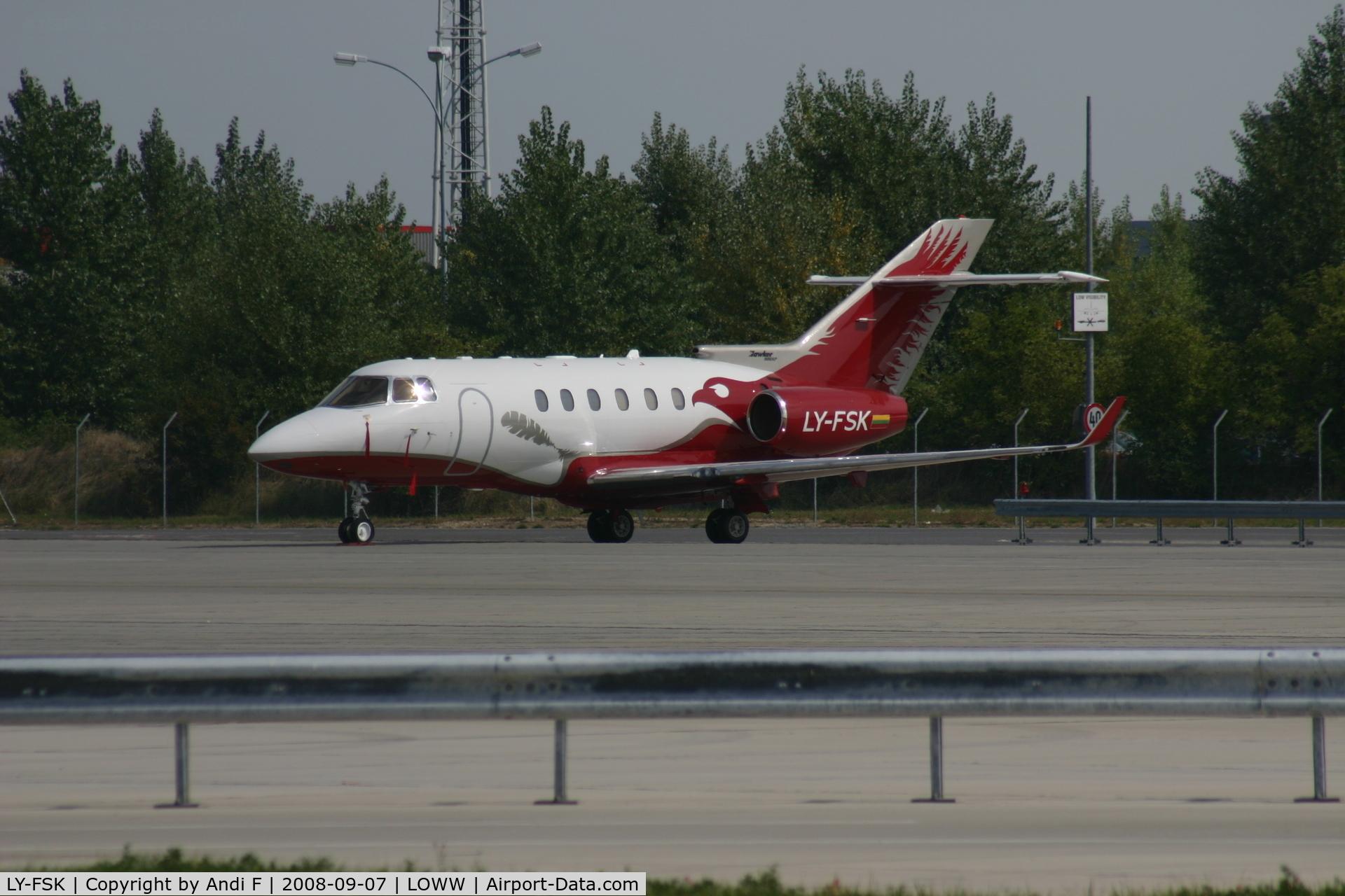 LY-FSK, 2008 Hawker Beechcraft 900XP C/N HA0060, New