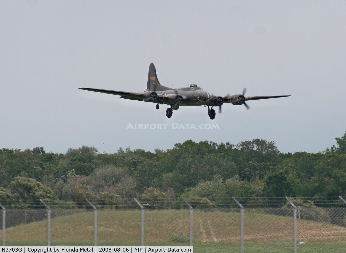 N3703G, 1945 Boeing B-17G Flying Fortress C/N 44-83546-A, B-17 Memphis Belle