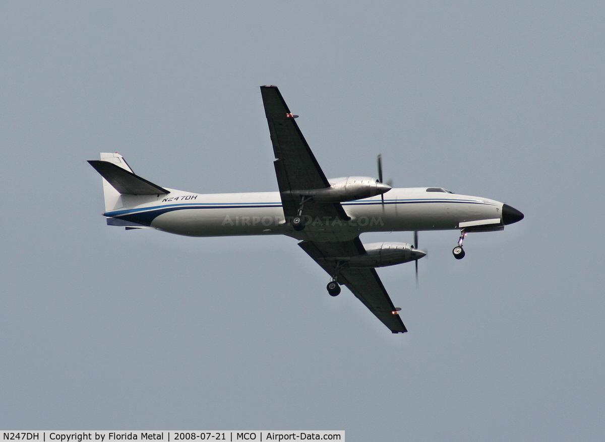 N247DH, 1985 Fairchild SA-227AT Merlin IVC C/N AT-626B, Fairchild Metro 3 (Merlin IV)