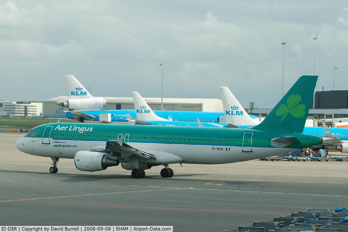 EI-DER, 2005 Airbus A320-214 C/N 2583, Aer Lingus A320 - Taxiing
